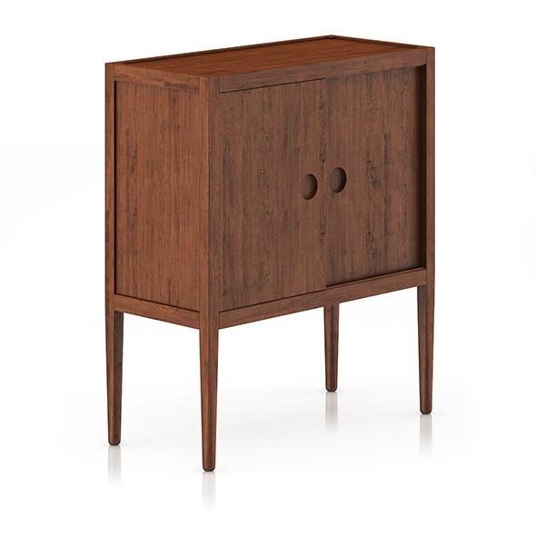 3DOcean Wooden Cabinet 8036197