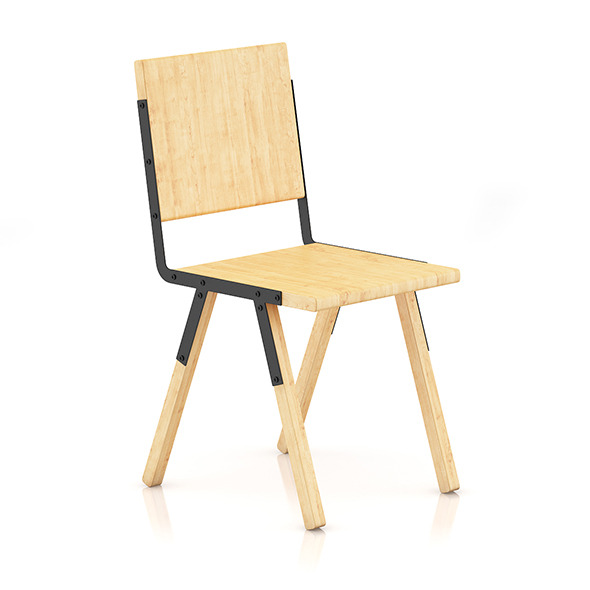 3DOcean Wooden Chair 3 8036281
