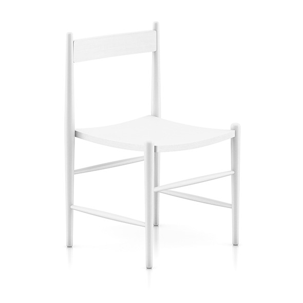 3DOcean White Wooden Chair 8036366