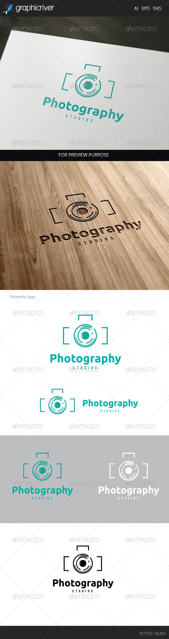 GraphicRiver Photography Logo 8036464