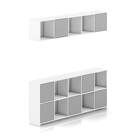 3DOcean Standing and Handing Shelves 8036470