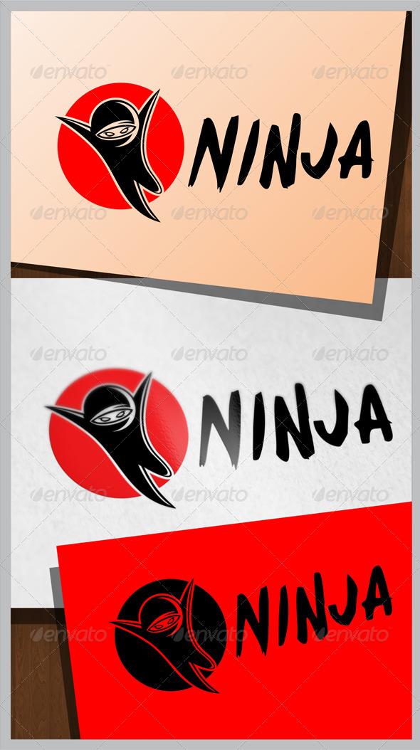 GraphicRiver Ninja Logo 8036516