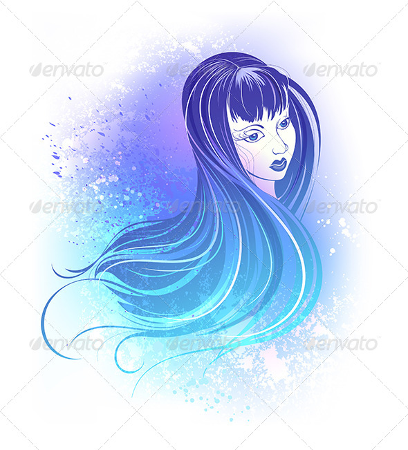 GraphicRiver Girl Face 8036573