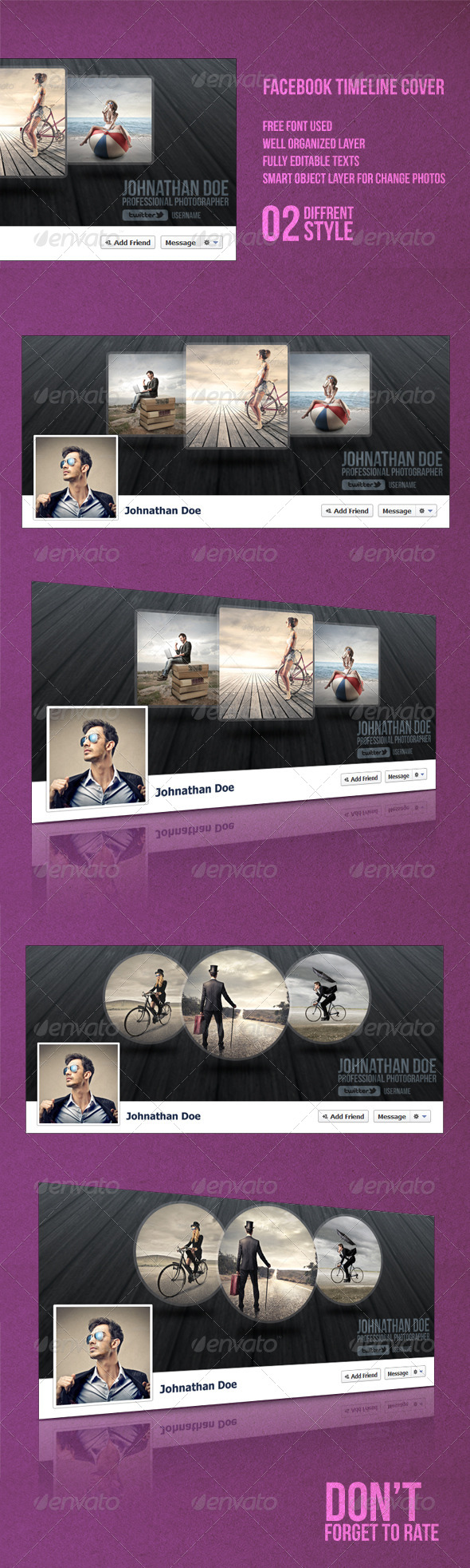 GraphicRiver Facebook Timeline Cover 8036618