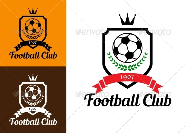 GraphicRiver Football or Soccer Crests 8037086