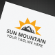 Sun Mountain Logo - GraphicRiver Item for Sale