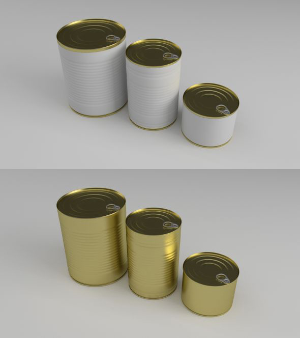 3DOcean Cans 8038113