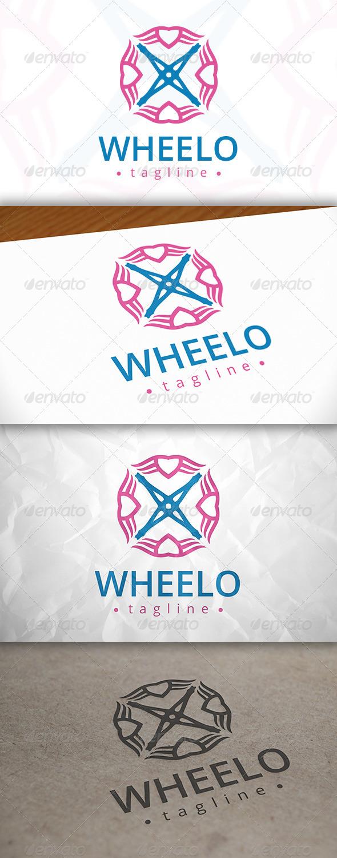 GraphicRiver Wheel Love Logo 8038271