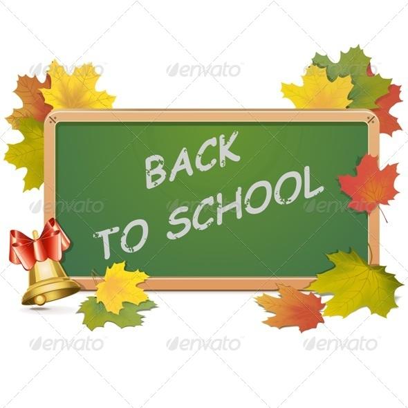GraphicRiver School Blackboard 8038303