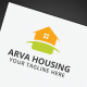 Arva Housing Logo - GraphicRiver Item for Sale