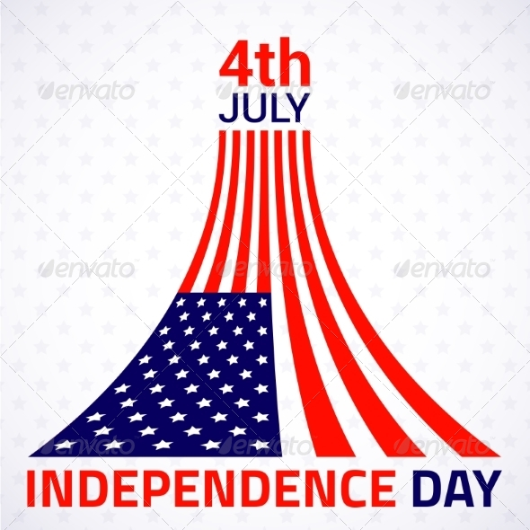 GraphicRiver American Independence Day Design 8038430