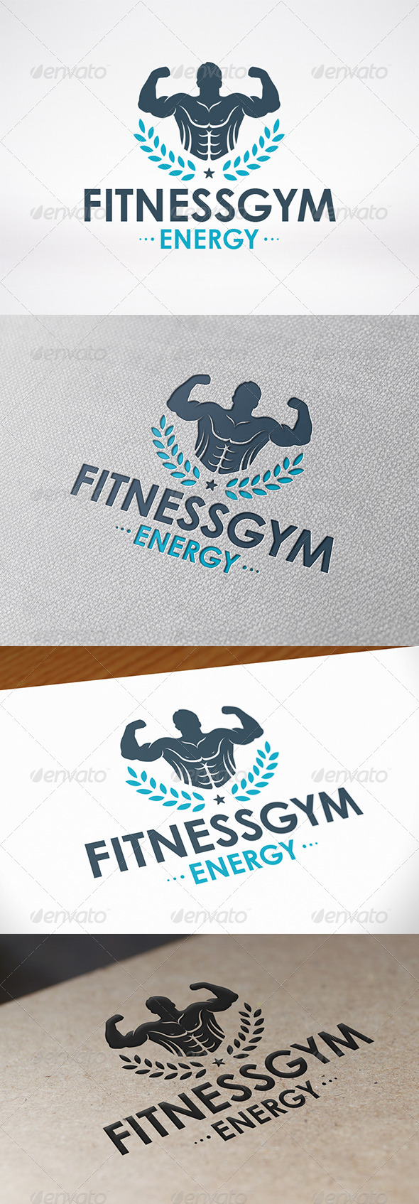 GraphicRiver Gym Logo Template 8038560