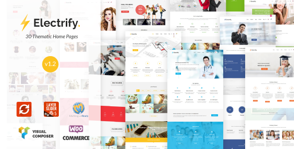 Electrify - Versatile Multipurpose WordPress Theme - Business Corporate