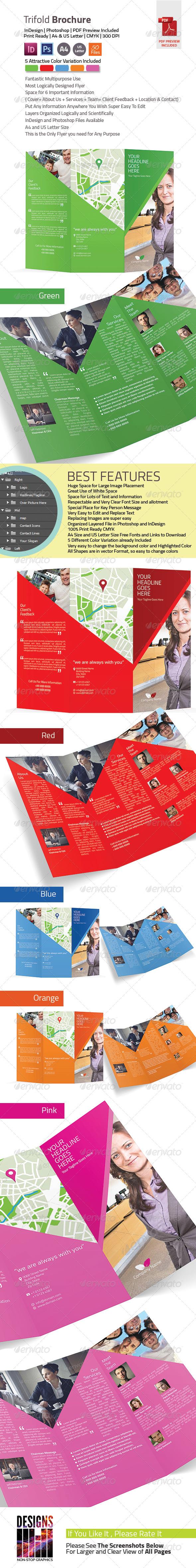 GraphicRiver Tri-fold Brochure 8003711