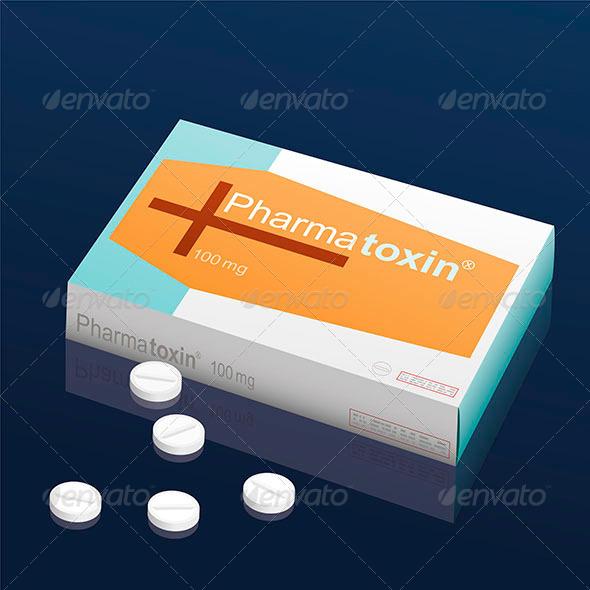 GraphicRiver Pills Pharmatoxin Coffin 8038714