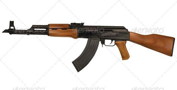 GraphicRiver Gun 8039611