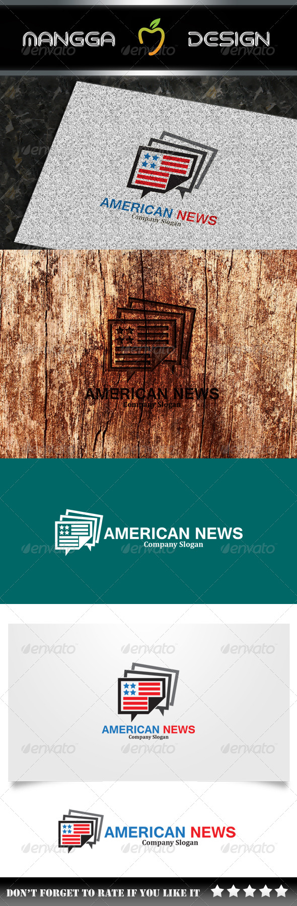 GraphicRiver American News Logo 8040114