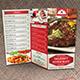 TriFold Restaurant Menu Template Vol 2 - GraphicRiver Item for Sale