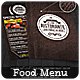 Food Menu - Flyer [Vol.2] - GraphicRiver Item for Sale