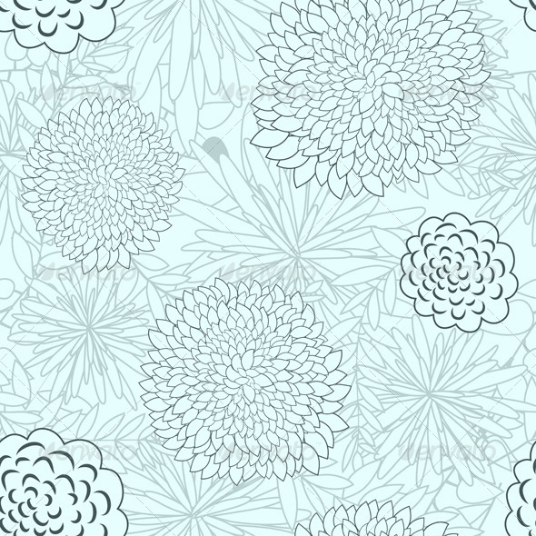 GraphicRiver Floral Seamless Pattern 8040987