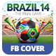 Brazil 14 Soccer Tournament | Facebook Cover - GraphicRiver Item for Sale