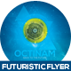 Octinam Futuristic Flyer Design - GraphicRiver Item for Sale