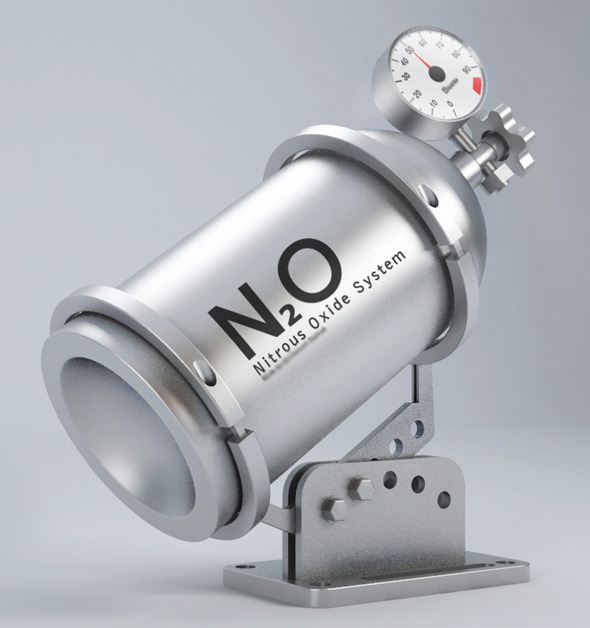 3DOcean Nitrous Oxide System Tube 8041573