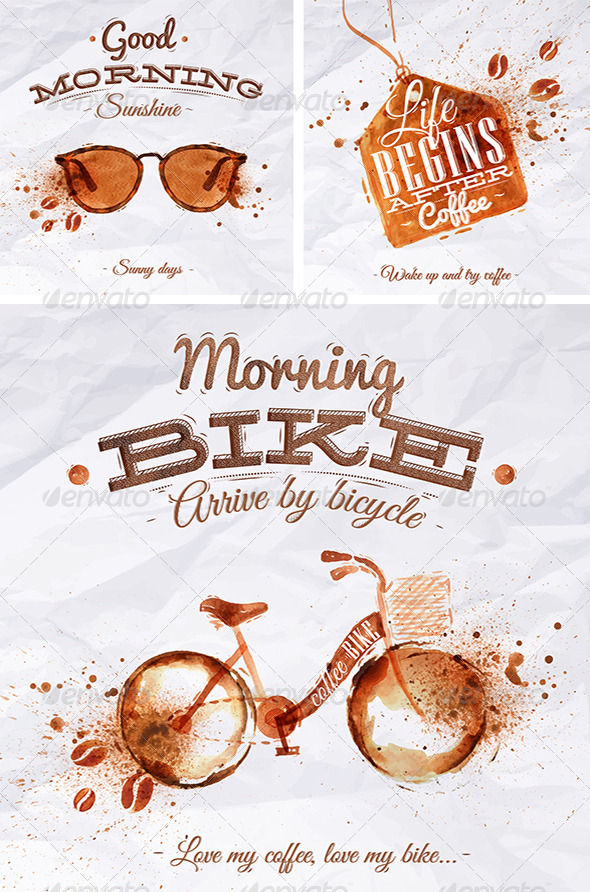 Coffee Spot Posters Collection