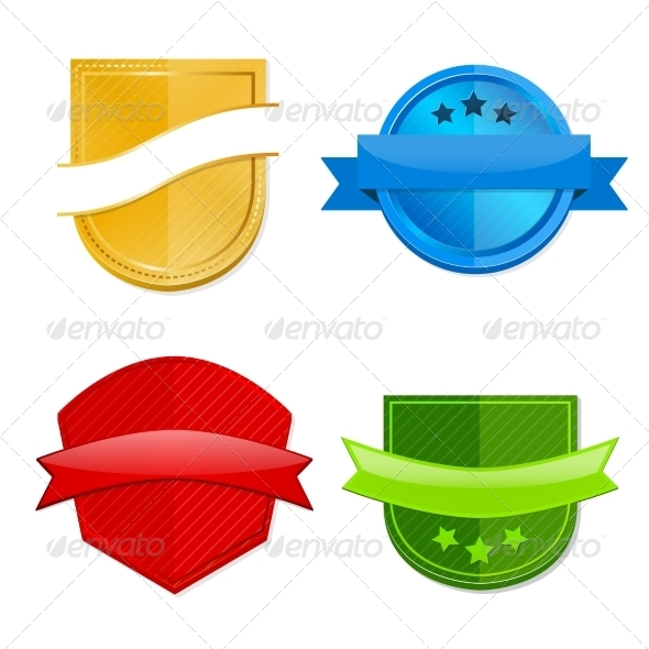 GraphicRiver Blank Template Badges 8041887