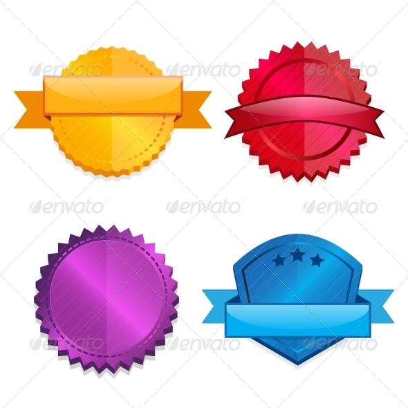 GraphicRiver Blank Template Badges 8041889