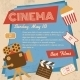 Retro Cinema Poster - GraphicRiver Item for Sale