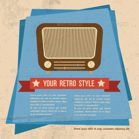 GraphicRiver Retro Style Poster 8041980