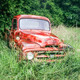 Red Truck In The Rain - PhotoDune Item for Sale