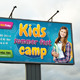 Kids Summer Camp Outdoor Banner 02 - GraphicRiver Item for Sale