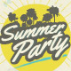 Summer Party Poster / Flyer - GraphicRiver Item for Sale