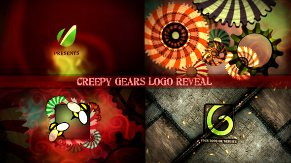 Creepy Gears Logo Reveal