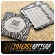 Square Business Card V.1 - GraphicRiver Item for Sale