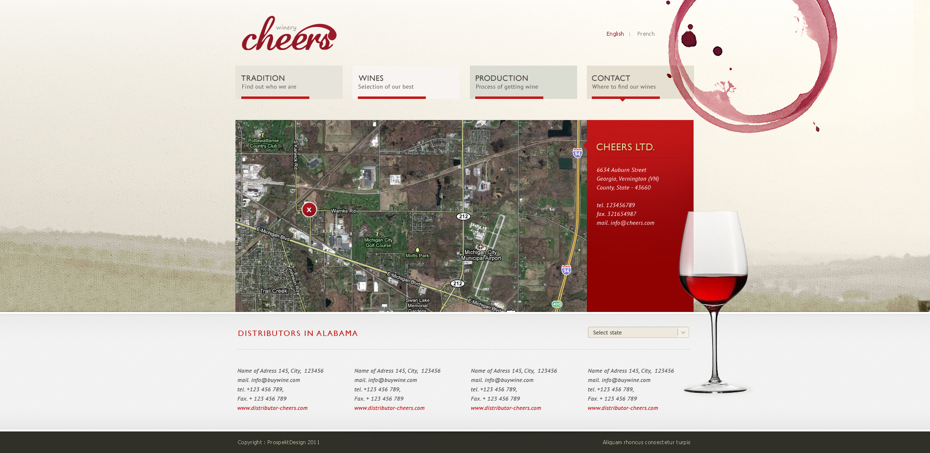 Cheers - Premium and Modern Website for Winery