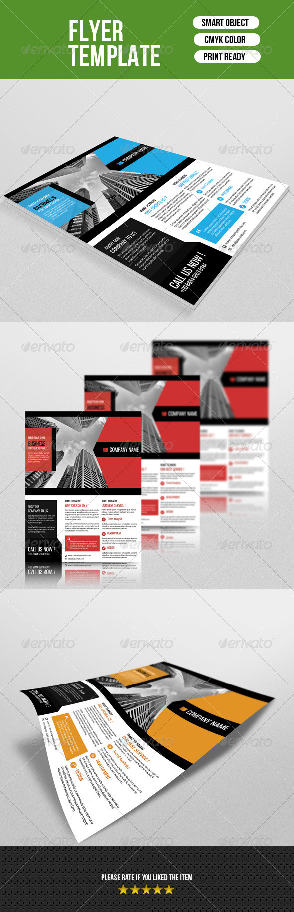 GraphicRiver Business Flyer-V53 8043914