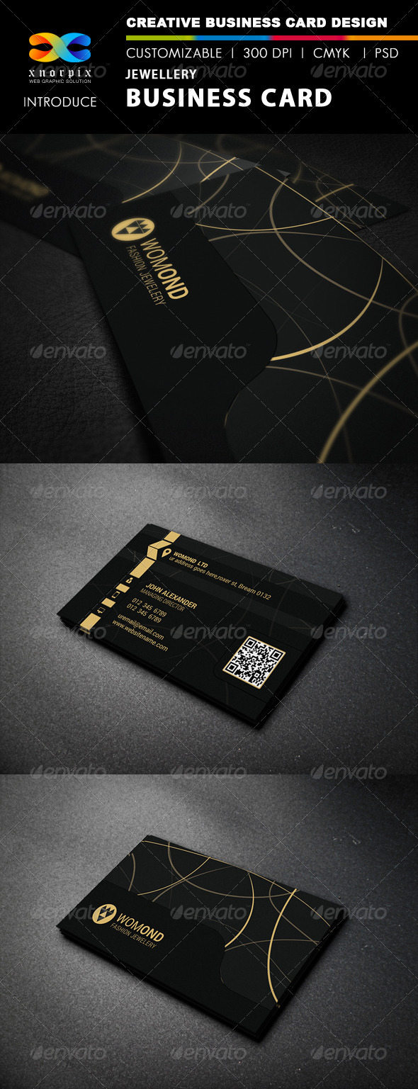 GraphicRiver Jewellery Business Card 8044355