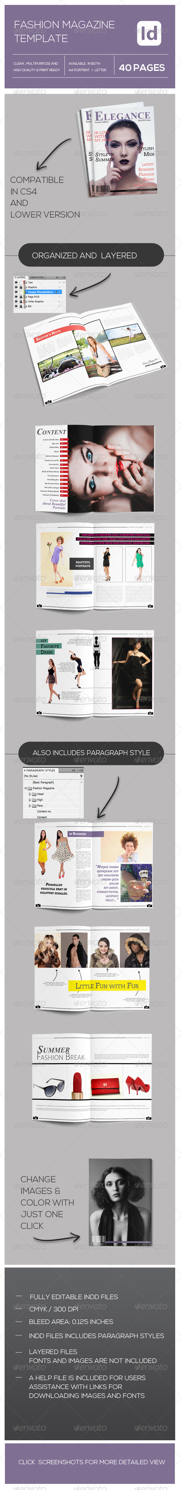 GraphicRiver Fashion Magazine 8044381