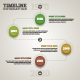 Timeline Infographic Template in Flat Retro Style. - GraphicRiver Item for Sale