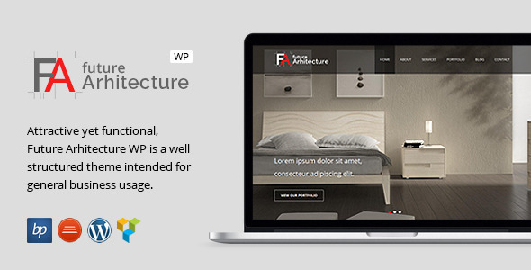 Future Architecture - Responsive WordPress Theme - Business Corporate