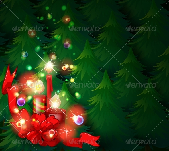GraphicRiver Christmas Background 8045019