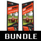 3 in 1 Fitness Multipurpose Banner Bundle 03 - GraphicRiver Item for Sale