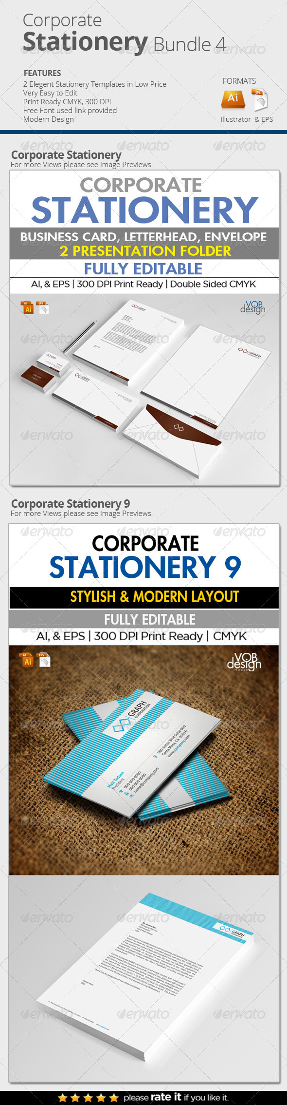 Corporate Stationery Bundle 4