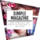 Simple Magazine - GraphicRiver Item for Sale