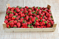 Strawberries in a crate - PhotoDune Item for Sale