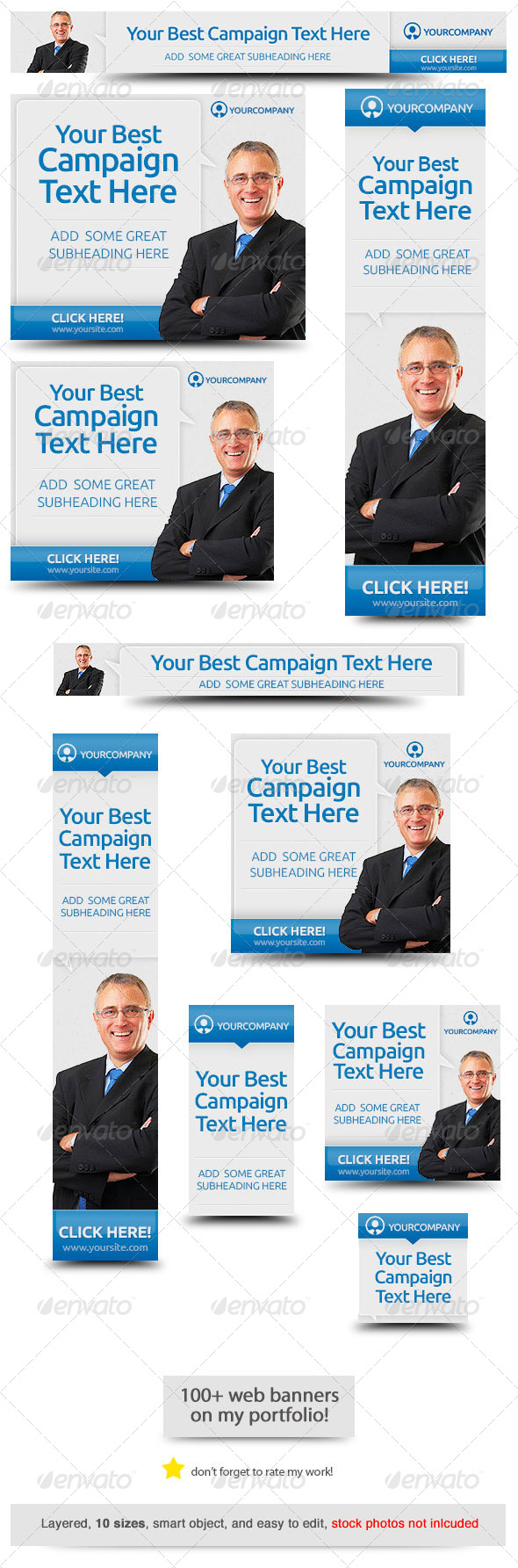 Corporate Web Banner Design Template 40