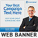 Corporate Web Banner Design Template 40 - GraphicRiver Item for Sale